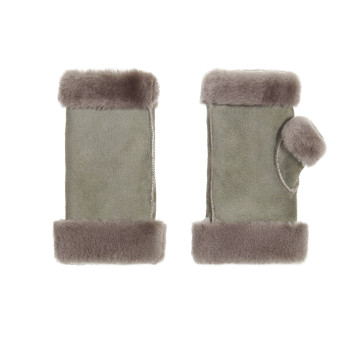 Gushlow and Cole Grey Fingerless Mittens