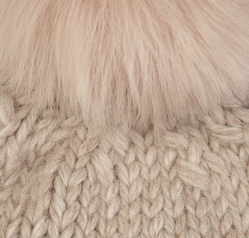 Gushlow and Cole Shearling Knitted Swatch Blossom