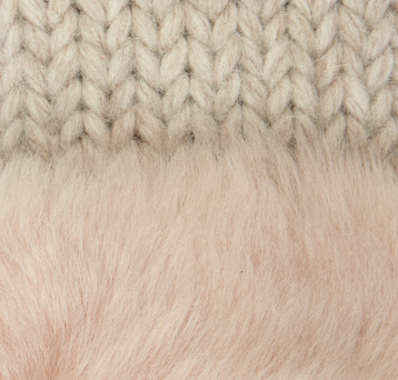 Gushlow and Cole Shearling Knit Swatch Blossom