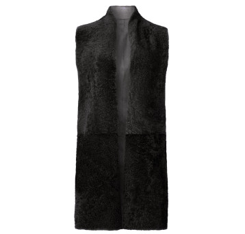 Shearling-CROMBIE-GILET-graphite