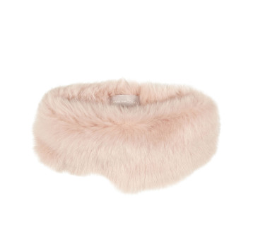 Gushlow and Cole Shearling Donut Scarf Blossom