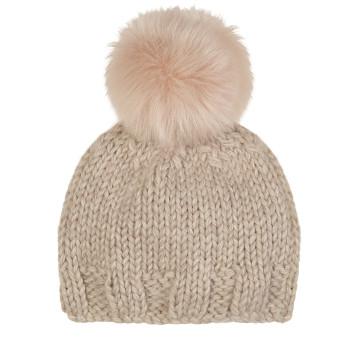 toscana-Hand-Knit-Beanie-hat-Blossom-pink