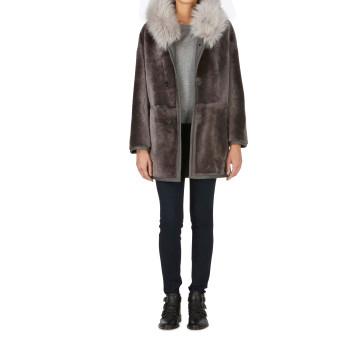 Parka Coat  lady grey 10