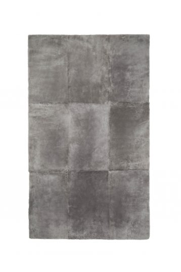 grey shearling throw - homewear | gushlow and cole - cell image 1