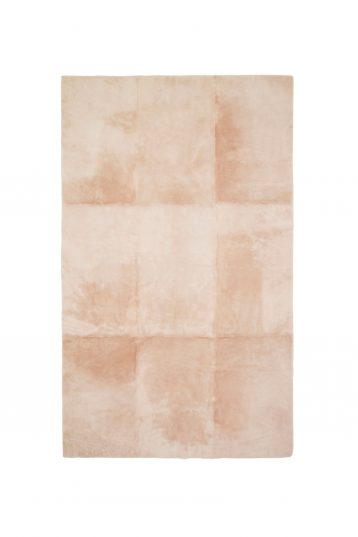 pink shearling throw - homewear | gushlow and cole - cell image 1
