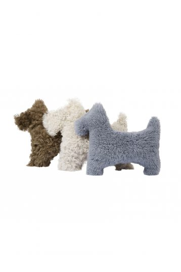shearling dog cushions - homewear| gushlow and cole - cell image 1