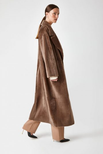 shearling trench coat - women | Gushlow & Cole - CXTCL0-WAL