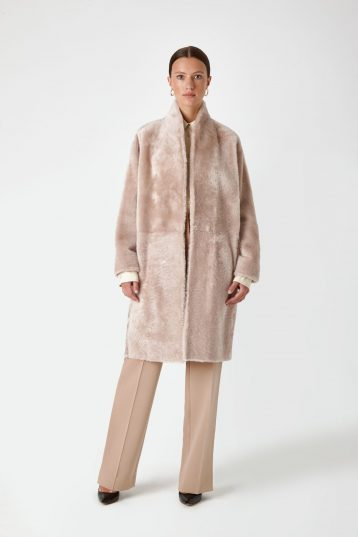 shearling coat - women | Gushlow & Cole - CCBL0(2F)-SAN