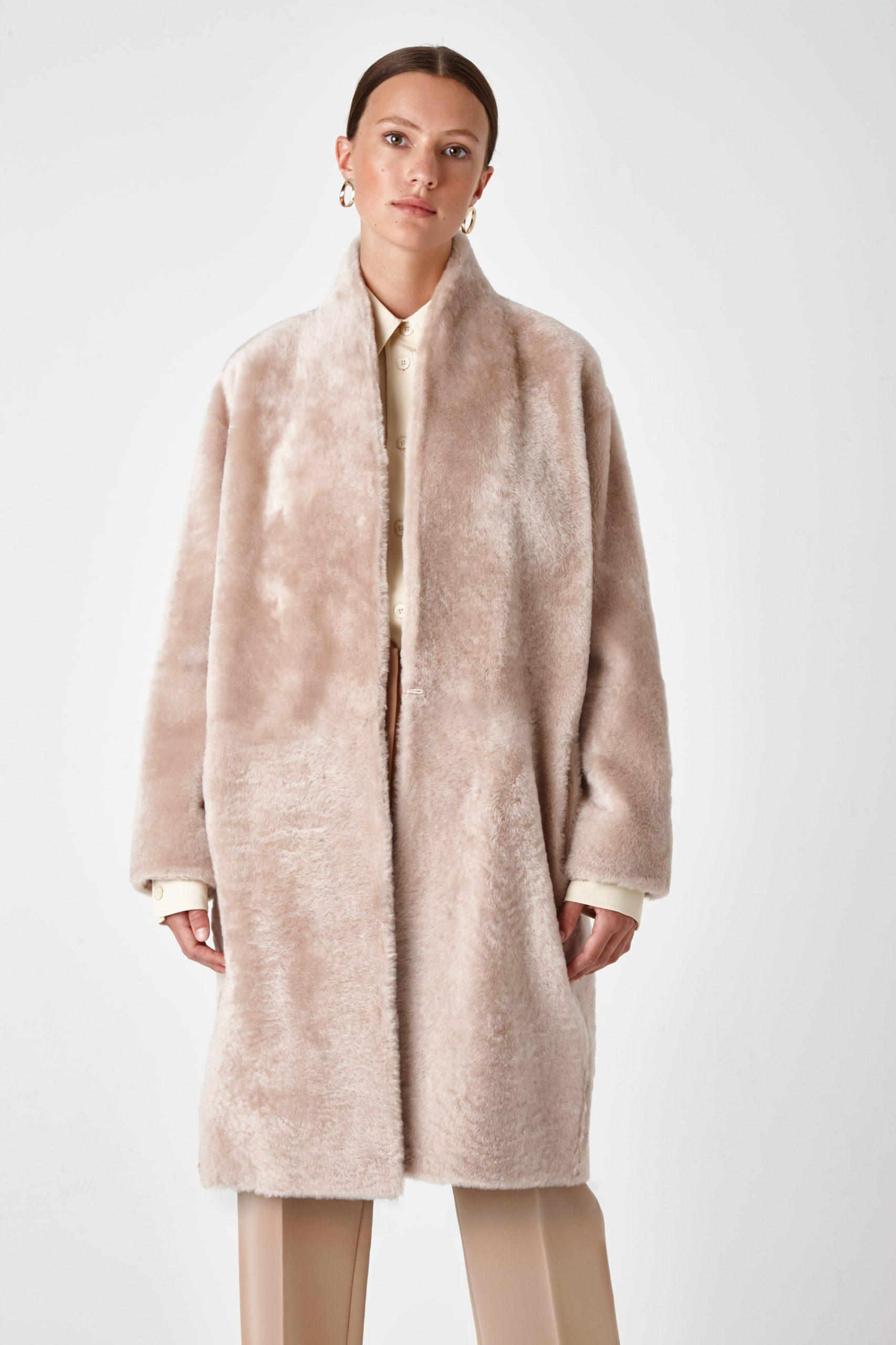 shearling coat - women | Gushlow & Cole - CCBL0(2F)-SAN