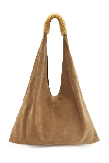 Suede Bag Tan_1