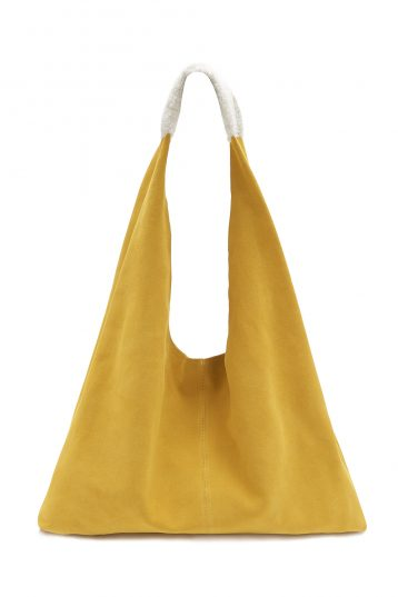 Suede Bag Yellow_1