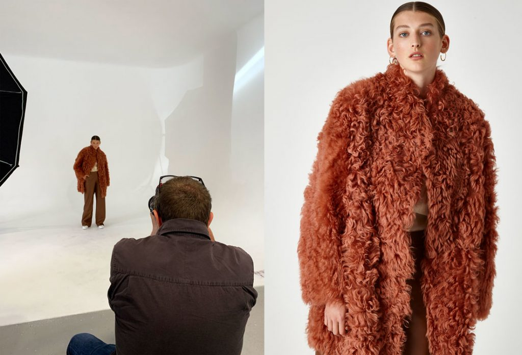 behind-the-scene-shooting-aw-19-20-gushlow-and-cole-orange-sheaarling-coat