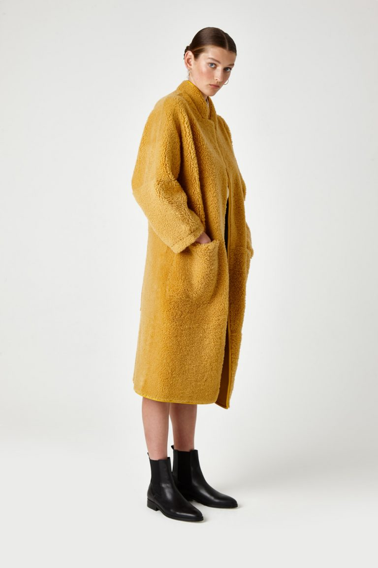 batwing-shearling-coat-yellow-gushlow-and-cole 5