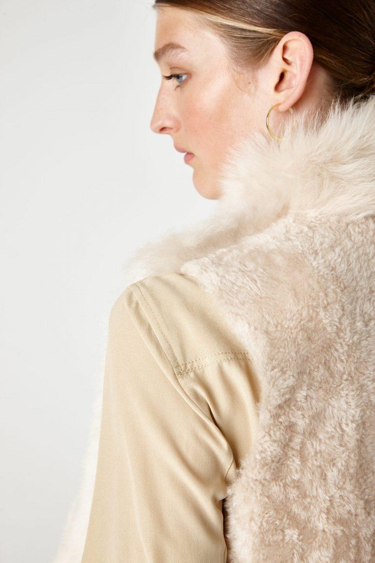 Shearling Rough Cut Gilet - women | Gushlow & Cole - GRCTX-BUT