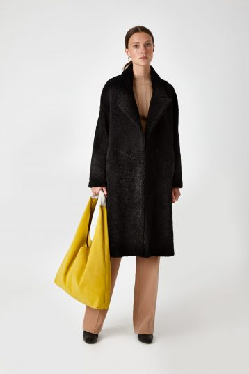 shearling coat - women | Gushlow & Cole - COVE0(19)-BLK