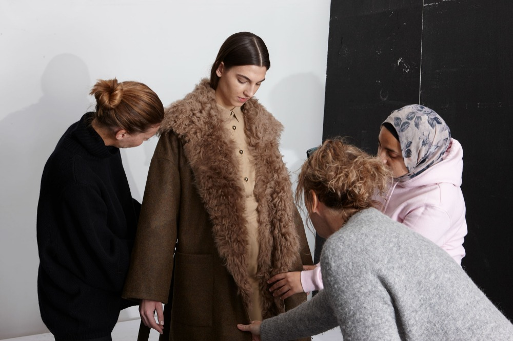 Autumn Winter 20/21: The Story Behind The Collection | Gushlow & Cole - behind the scenes