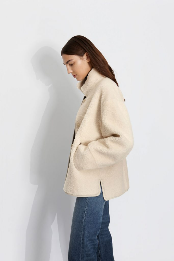 Autumn Winter 20/21: The Story Behind The Collection | Gushlow & Cole - boxy jacket