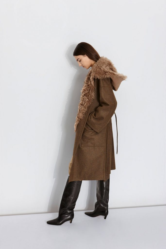 Autumn Winter 20/21: The Story Behind The Collection | Gushlow & Cole - wool tweed coat