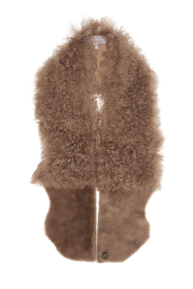 camel-shearling-gilet-scarf-women-gushlow-and-cole