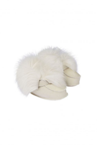 Last Minute Luxury Gifts - baby boots white