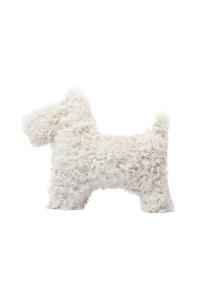 Last Minute Luxury Gifts - scottie dog cushion
