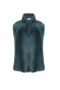 Last Minute Luxury Gifts - mixed shearling gilet
