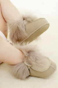 Last Minute Luxury Gifts - baby boots