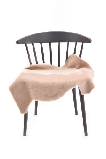 Medium Merino Sheepskin Rug in Beige front
