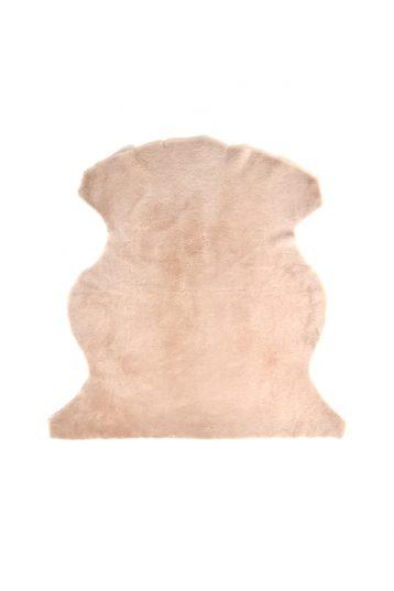 Medium Merino Sheepskin Rug in Beige cut out