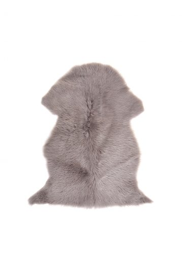 Small Toscana Sheepskin Rug in Taupe cut out