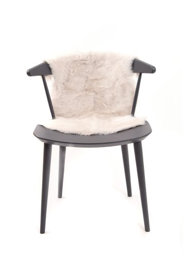 Small Toscana Sheepskin Rug in White front